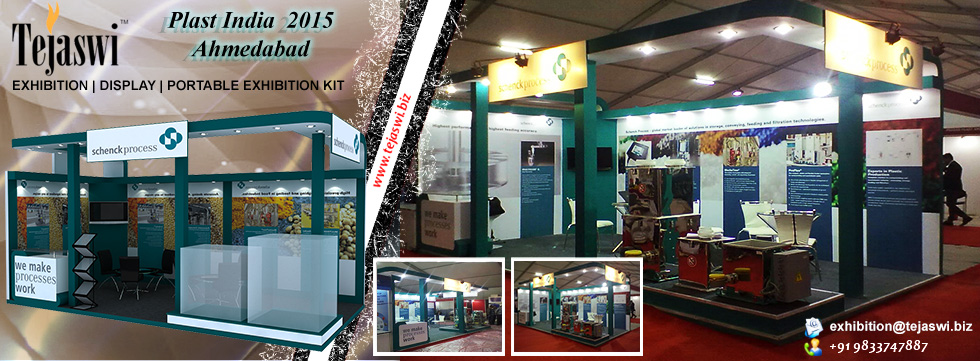 Exhibition Stand Construction Gandhinagar Plastindia