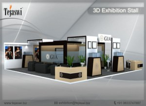 3D Exhibition Stall Bangalore