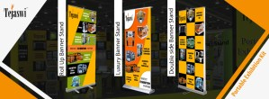 Banner Stands Product Displays INDIA