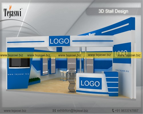 7 Meter x 7 MeterTrade Show Stand Design