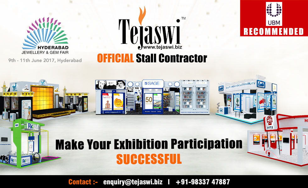 Hyderabad Jewellery & Gem Fair Official Exhibition Stand Contractor