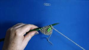 chal-bufanda tejido a dos agujas apto para principiantes