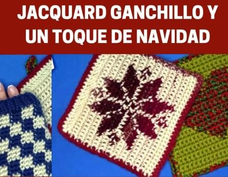 JACQUAR GANCHILLO Y UN TOQUE DE NAVIDAD