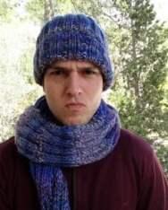 bufanda y gorro para chico