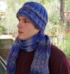 bufanda y gorro chico