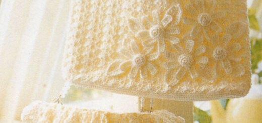 Bolso crochet elegante y fácil