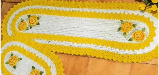 Alfombra crochet fácil