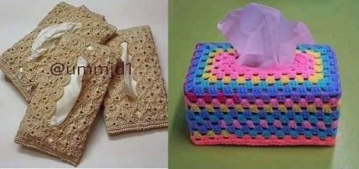 Bolsito en crochet para guardar paso a paso