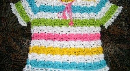 Chaquetita bebe multicolor esquemas