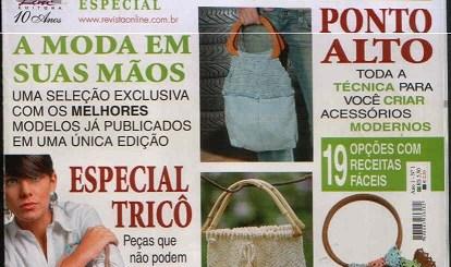 Revista Bolsos en crochet