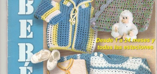 Revista ganchillo bebe para descargar