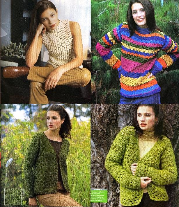 Ropa en crochet de invierno