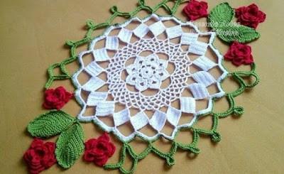 Servilleta crochet patrones