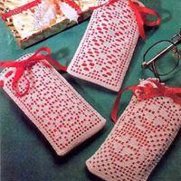 Cositas en crochet gratis con esquemas
