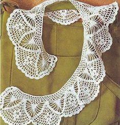 Esquemas de cuellos en crochet