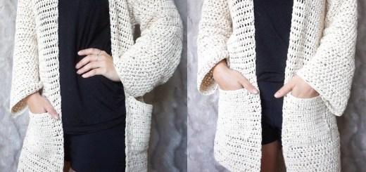 Chompas tejidas a crochet paso a paso