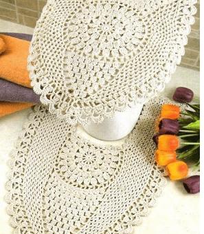 Juego de baños crochet fácil