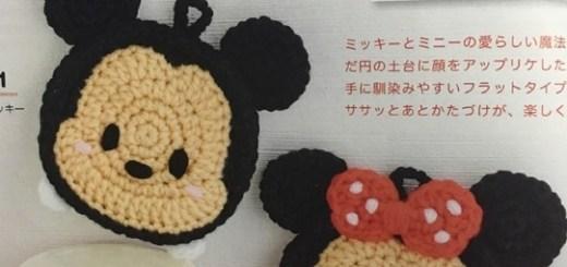 Agarradera crochet mickey