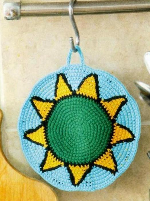 Agarradera crochet sol