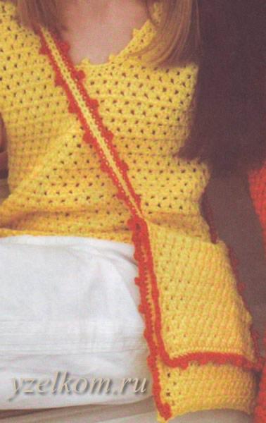 Bolsas de niña tejidas a crochet
