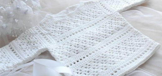 Camperitas de bebe al crochet