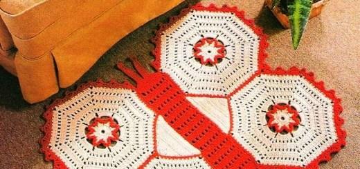 Carpetas al crochet fáciles
