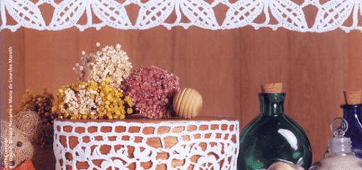 Cenefa crochet cocina