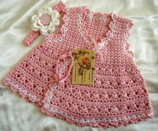 Crochet bebe niña