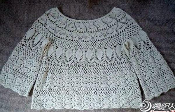c40319522 Crochet blusa calada ➤ PASIÓN Y CROCHET ✨➤ Crochet Patrones