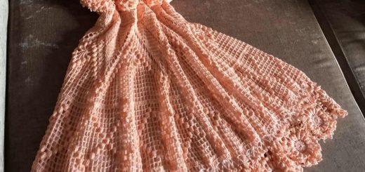 Crochet vestido de niña