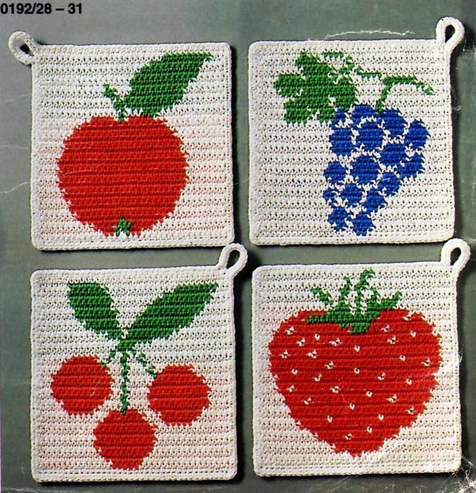 Gancho agarraderas frutas