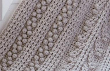 Puntada colcha crochet