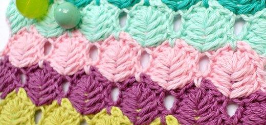 Punto crochet para prendas