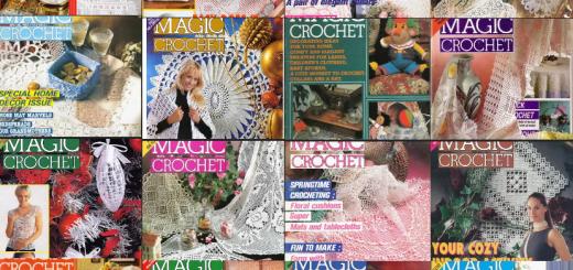 Magic crochet revistas