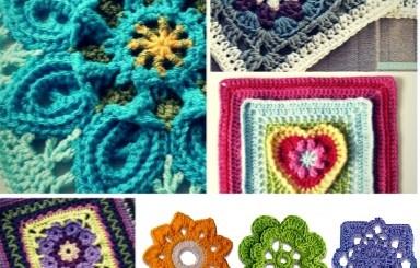Motivos y orillas en crochet