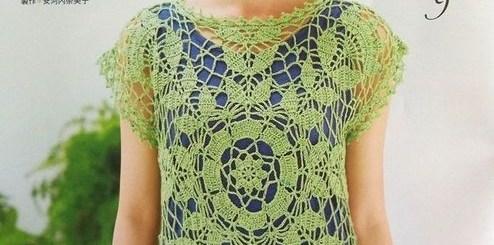 Patrones de crochet blusas