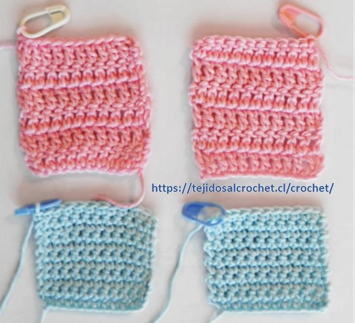Bordes Rectos en Crochet