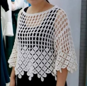 Blusa Fácil Crochet Marbella