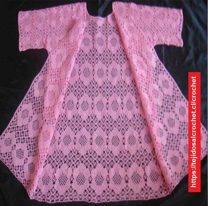 Abrigo Crochet Verano