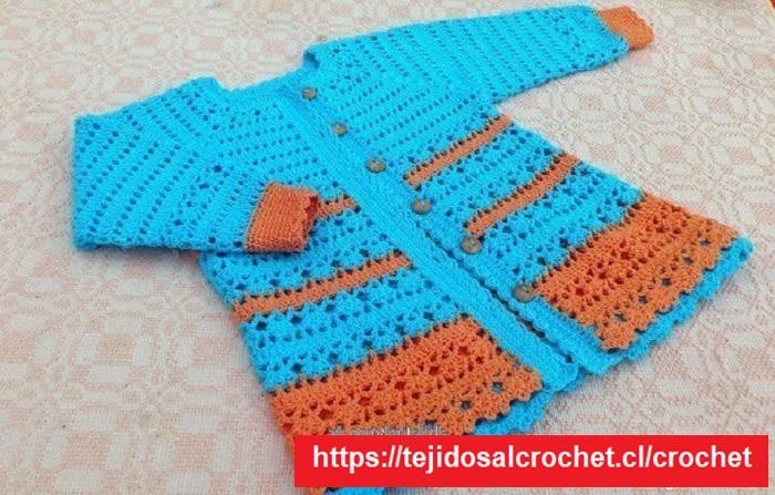 Cardigan Crochet Niña