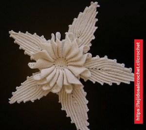 Flor Delicada Crochet
