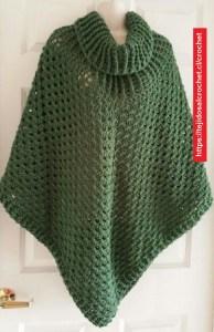 Poncho Crochet Fácil y bonito