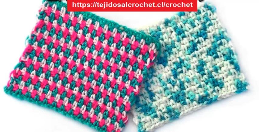 Puntada Sencilla Crochet