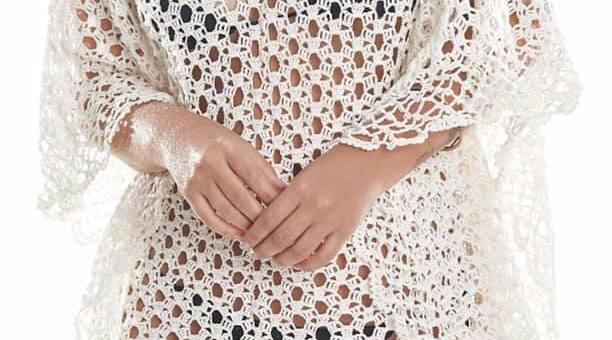 Vídeo blusa crochet