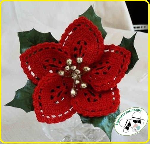 Adornos navideños a crochet