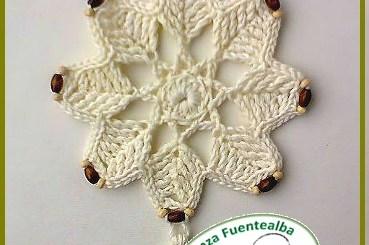 Adornos navideños tejidos a crochet