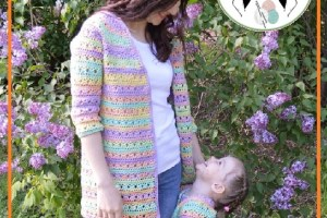 Chaqueta crochet mujer patrones