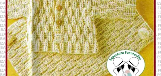 Crochet ropa de bebe