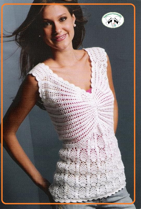 Modelos de blusas tejidas