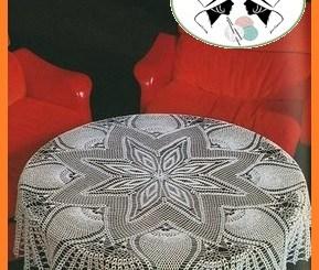 Patrones de crochet manteles